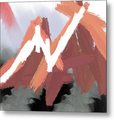 Mountains Metal Print by Condor