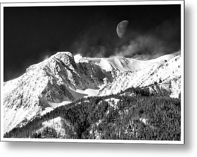 Mountains Of The Moon Metal Print by Adele Buttolph