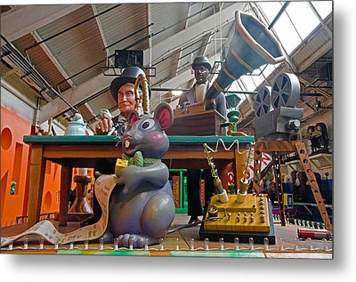 Mouse Jam Metal Print by Cheryl Cencich