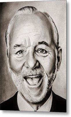 Mr Bill Murray Metal Print by Brian Broadway