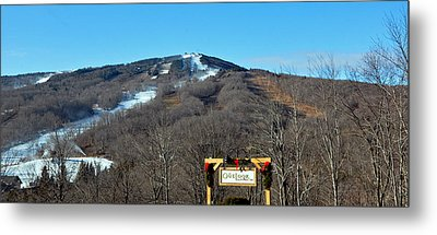 Mt Snow Vermont Metal Print by Mary Anne Williams