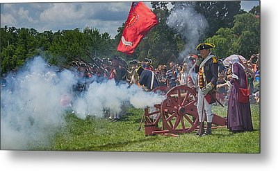 Mt Vernon Cannon Fire 4th Of July Metal Print by Jack Nevitt