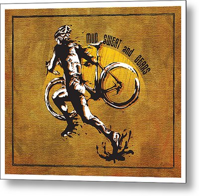 Mud Sweat And Gears Metal Print by Sassan Filsoof