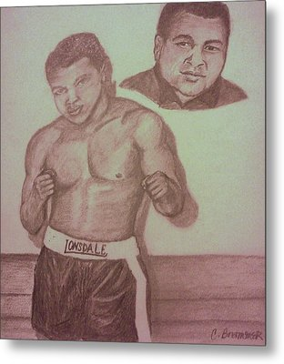Muhammad Ali Metal Print by Christy Saunders Church