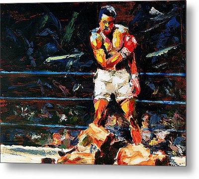 Muhammad Ali Metal Print by Derek Russell