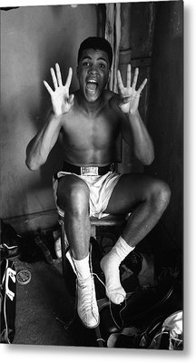 Muhammad Ali Showing Off  Metal Print by Retro Images Archive