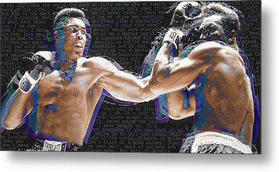 Muhammad Ali Metal Print by Tony Rubino
