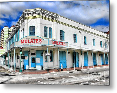 Mulates New Orleans Metal Print by Olivier Le Queinec