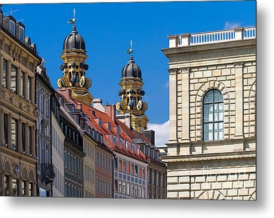 Munich Metal Print by Juergen Klust