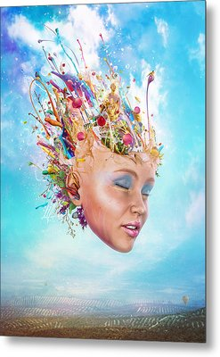 Muse Metal Print by Mario Sanchez Nevado