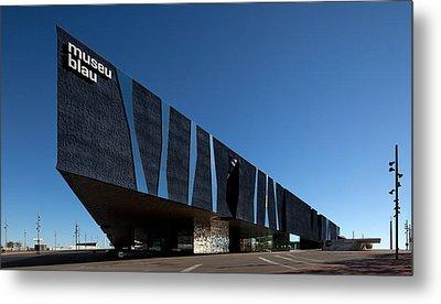 Museu Blau De Les Ciencies Naturals Metal Print by Panoramic Images