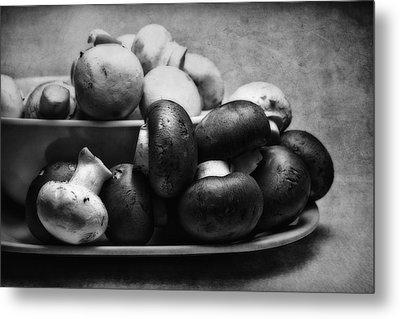 Mushroom Still Life Metal Print by Tom Mc Nemar