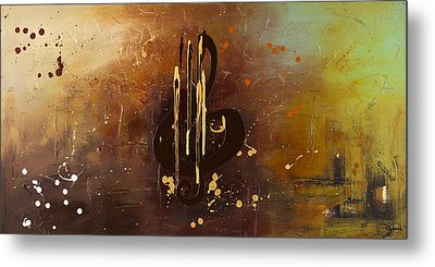 Music All Around Us Metal Print by Carmen Guedez
