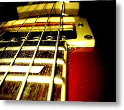 Music Metal Print by Lucy D