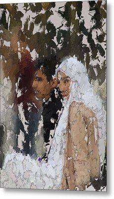 Muslim Couple Metal Print by Stefan Kuhn