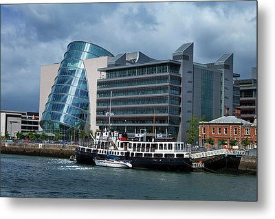 Mv Cill Airne River Restaurant Metal Print by Panoramic Images