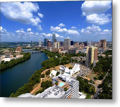 My Austin II Without Borders Metal Print by James Granberry