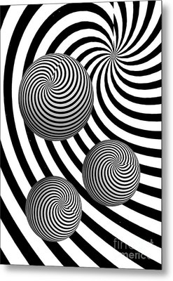My Eyes Hurt Metal Print by Steve Purnell