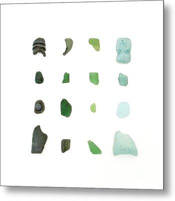 My Favorite Sea Glass Metal Print by Jennifer Booher