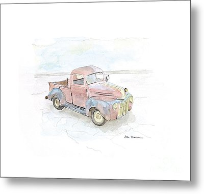 My Favorite Truck Metal Print by Joan Sharron