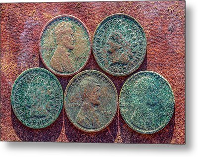 My Five Cents Metal Print by Randy Steele