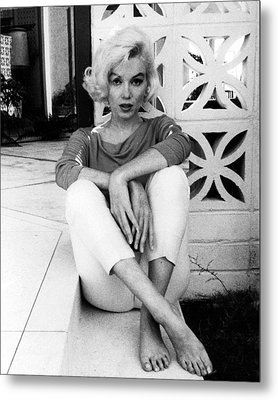 Marilyn Monroe  Metal Print by Retro Images Archive
