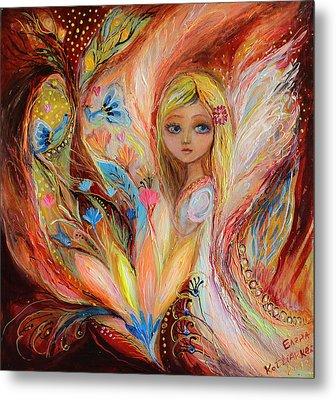 My Little Fairy Sandy Metal Print by Elena Kotliarker