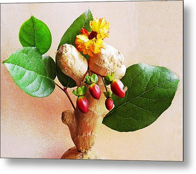 My Little Ginger Tree 2 Metal Print by Sarah Loft
