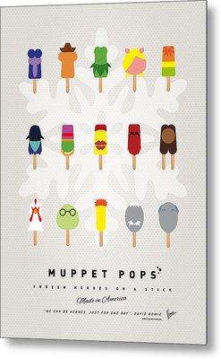 My Muppet Ice Pop - Univers Metal Print by Chungkong Art