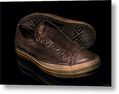 My Shoes... Metal Print by Erik Lunacek