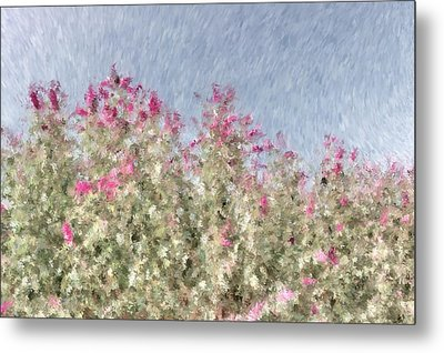 My Spring Garden - Impressionism Metal Print by Heidi Smith