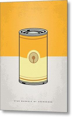 My Star Warhols 3cpo Minimal Can Poster Metal Print by Chungkong Art