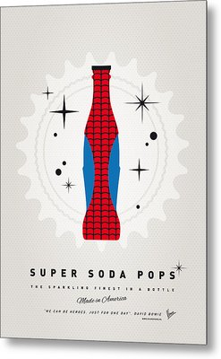 My Super Soda Pops No-02 Metal Print by Chungkong Art