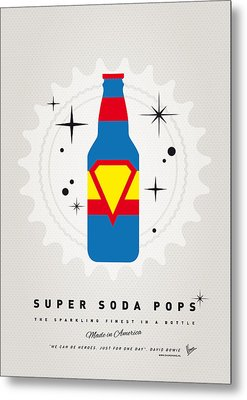 My Super Soda Pops No-05 Metal Print by Chungkong Art
