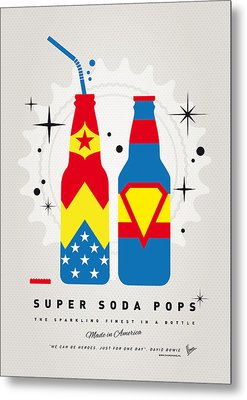 My Super Soda Pops No-06 Metal Print by Chungkong Art