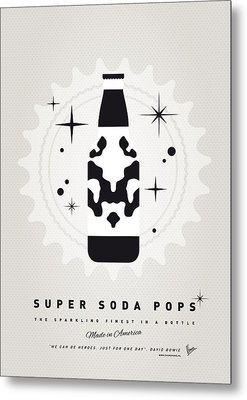 My Super Soda Pops No-12 Metal Print by Chungkong Art