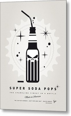 My Super Soda Pops No-15 Metal Print by Chungkong Art