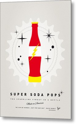 My Super Soda Pops No-18 Metal Print by Chungkong Art