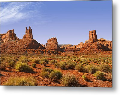 Mysterious Valley Of The Gods Metal Print by Christine Till