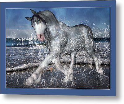 Mystic Inspiration Metal Print by Betsy C Knapp