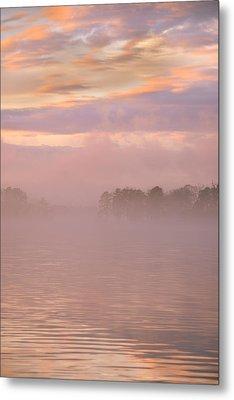 Mystic Morning Metal Print by Lisa Wooten