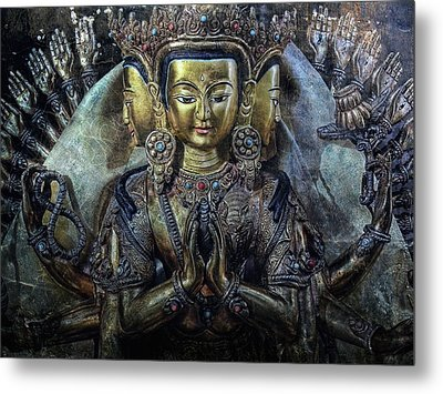 Mystical India Metal Print by Joachim G Pinkawa