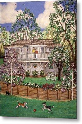 Nancy's House Metal Print by Linda Mears