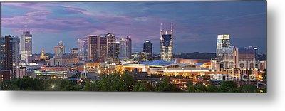 Nashville Skyline Metal Print by Brian Jannsen