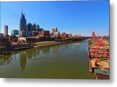 Nashville Skyline  Metal Print by Dan Sproul