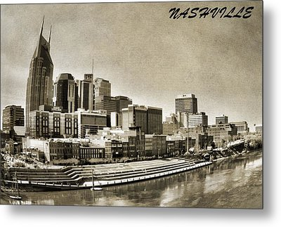 Nashville Tennessee Metal Print by Dan Sproul
