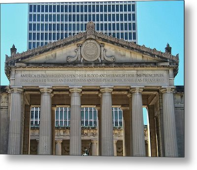 Nashville War Memorial Auditorium Metal Print by Dan Sproul