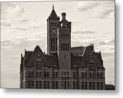 Nashville's Union Station Metal Print by Dan Sproul