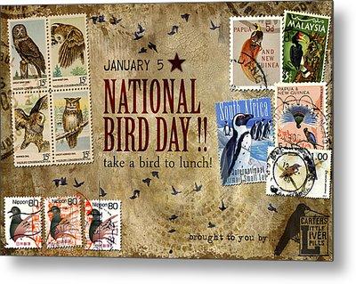 National Bird Day Metal Print by Carol Leigh