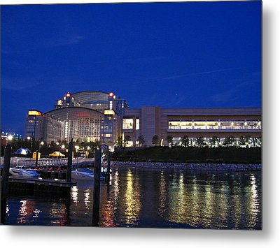 National Harbor - 121227 Metal Print by DC Photographer